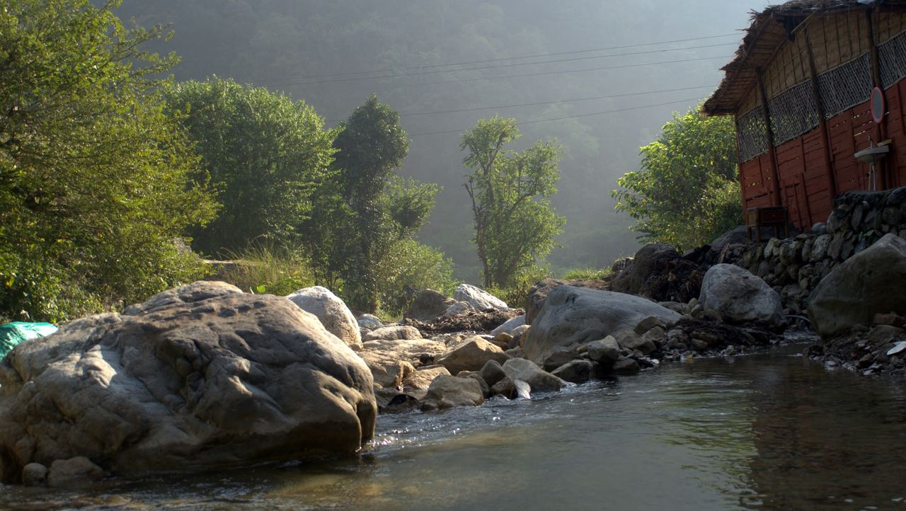 camp in rishikesh
